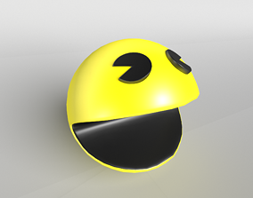 3D asset PacMan 001