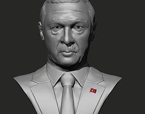 3dprint Recep Tayyip Erdogan 3D model print