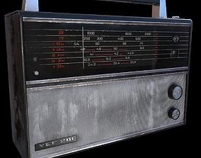 3D model Radio Vef 201