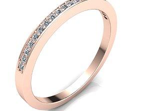 Woman Ring 3d Pring Model wedding printable