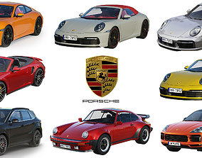 Porsche HQ collection 3D model realistic