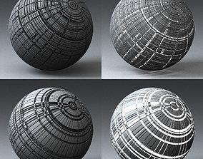 3D model Syfy Displacement Shader H 001 p