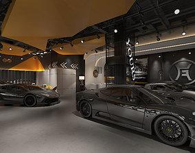3D Auto 4s shop Exhibition