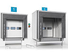Dock shelter handling 3D model