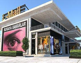 3D model The Mall Shopping Center Market Department Store