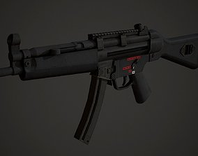 3D asset HK Mp5 Low Poly