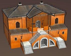 Medieval Fantasy House 3 3D asset