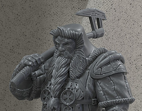 Dwarf hunter 3D print model