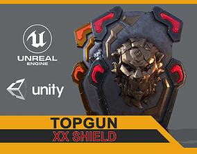 3D model VR / AR ready XX Shield