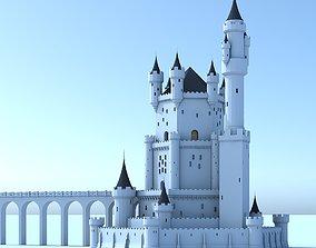 3D Fantasy Castle 006