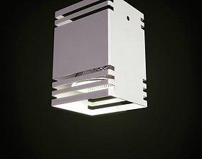 furniture Modern Ceiling Lamp 3D