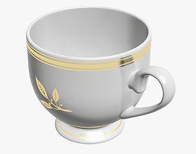 Tea Cup 3D asset game-ready