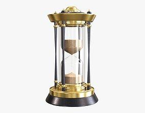 3D Hourglass sandglass egg sand timer clock 08