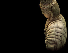 Game Model - Kasai Buddha Traces Forest statue 02 3D