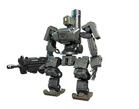 Bastion robot 3D model