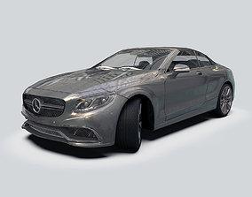 3D asset Mercedes S63 AMG Cabriolet