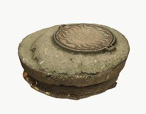 Manhole 01 3D model