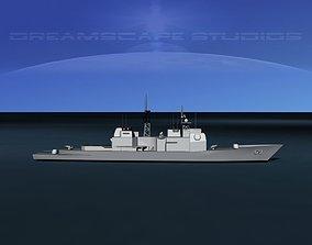3D asset USS Vicksburg CG-69 LP