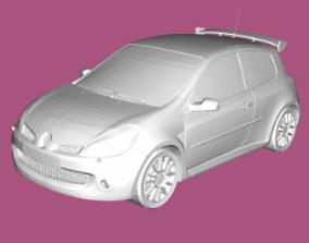 Renault Clio 3 RS 3D print model
