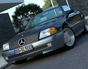 3D Mercedes SL class 1995