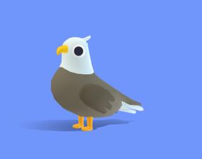 Aero the Eagle 3D asset