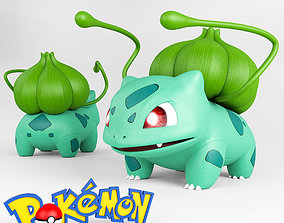 3D model Pokemon Bulbasaur