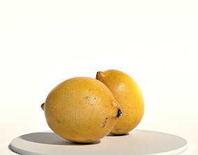 Lemons 3D asset