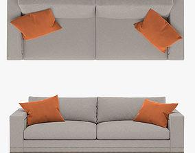 3D Vanguard - Michael Weiss Abingdon Two Seat Sofa