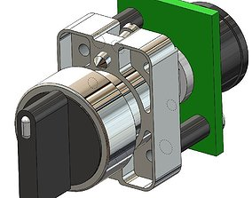 3D model 22 MM SWITCHES FROM AUTOMATION DIRECT