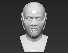 Hannibal Lecter bust 3D printing ready stl obj formats