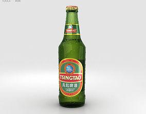 Tsingtao Beer Bottles 3D