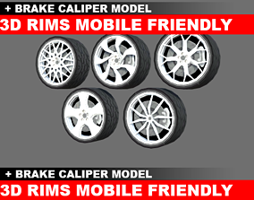 Rims Car Wheels 3D model