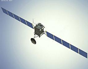 3D model Rosetta space probe