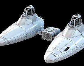 3D print model Empire Strick Back Bespin Twin-Pod Cloud