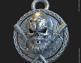 Skull gangster vol3 pendant jewelry 3D print model