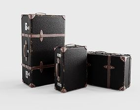 other Globe Trotter suitcase set 3D