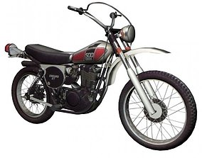 Yamaha XT 500 3D
