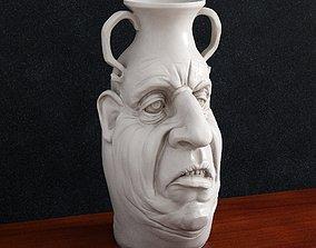 3D print model Vase Face