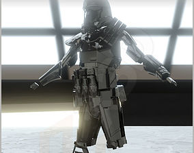 StarWars Deathtrooper Fully Printable Costume art
