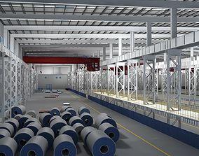 3D model Factory Interior Scene