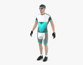 3D Racing Cyclist