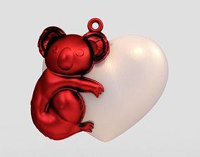 Koala Necklace 3D print model