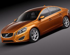 Volvo s60 2011 3D model