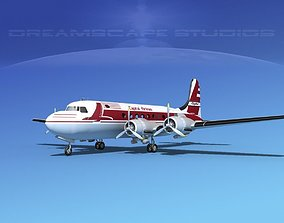 Douglas DC-4 Capitol Airlines 3D