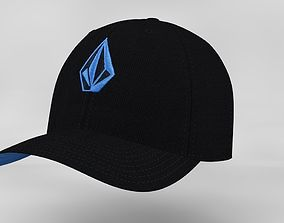 Baseball Cap 3D model game-ready