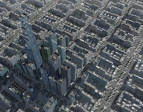 3D asset High Rise City VI