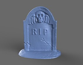 Tombstone Miniature 2 3D