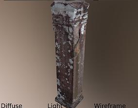 Ancient Pillar 3D asset