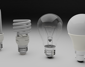 3D Lightbulb Pack