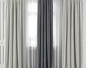Curtain Set 295C 3D